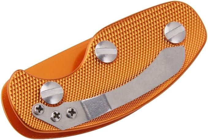 Sostenedor Organizador Carpeta de Llave Herramienta Llavero de Aluminio -Naranja: Amazon.es: Deportes y aire libre