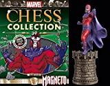 MARVEL CHESS FIGURINE COLLECTION MAGAZINE #39 MAGNETO BLACK KING