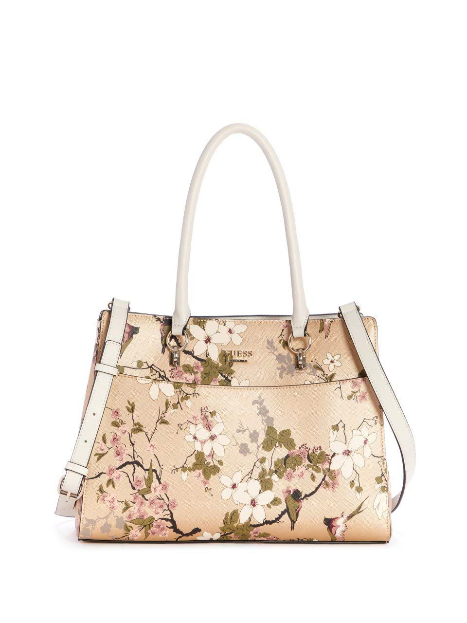 GUESS Factory Women's Natti Floral Satchel