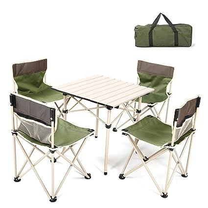 Terrasse 4 Kxbymx Et Chaise Ensemble Table Camping De Chaises 53ALj4qR
