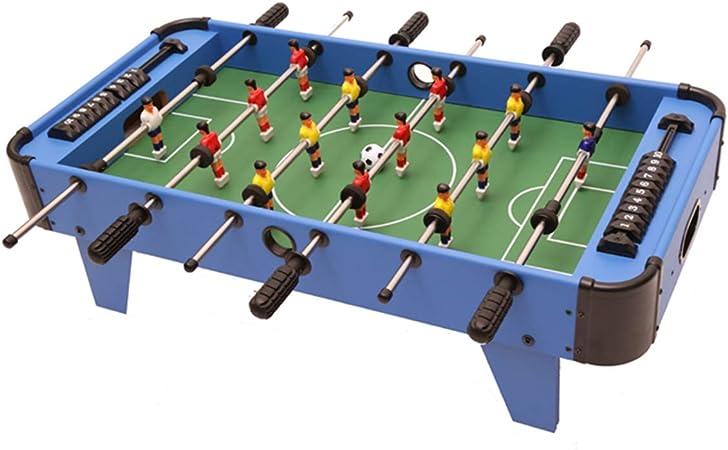 Mesa De Futbolín De Madera - Juego De Fútbol De Mesa De Competición De 32 Pulgadas, Conjunto Juegos Familiares para Adultos y Niños: Amazon.es: Hogar