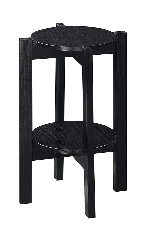 Convenience Concepts Newport Medium Plant Stand, Black