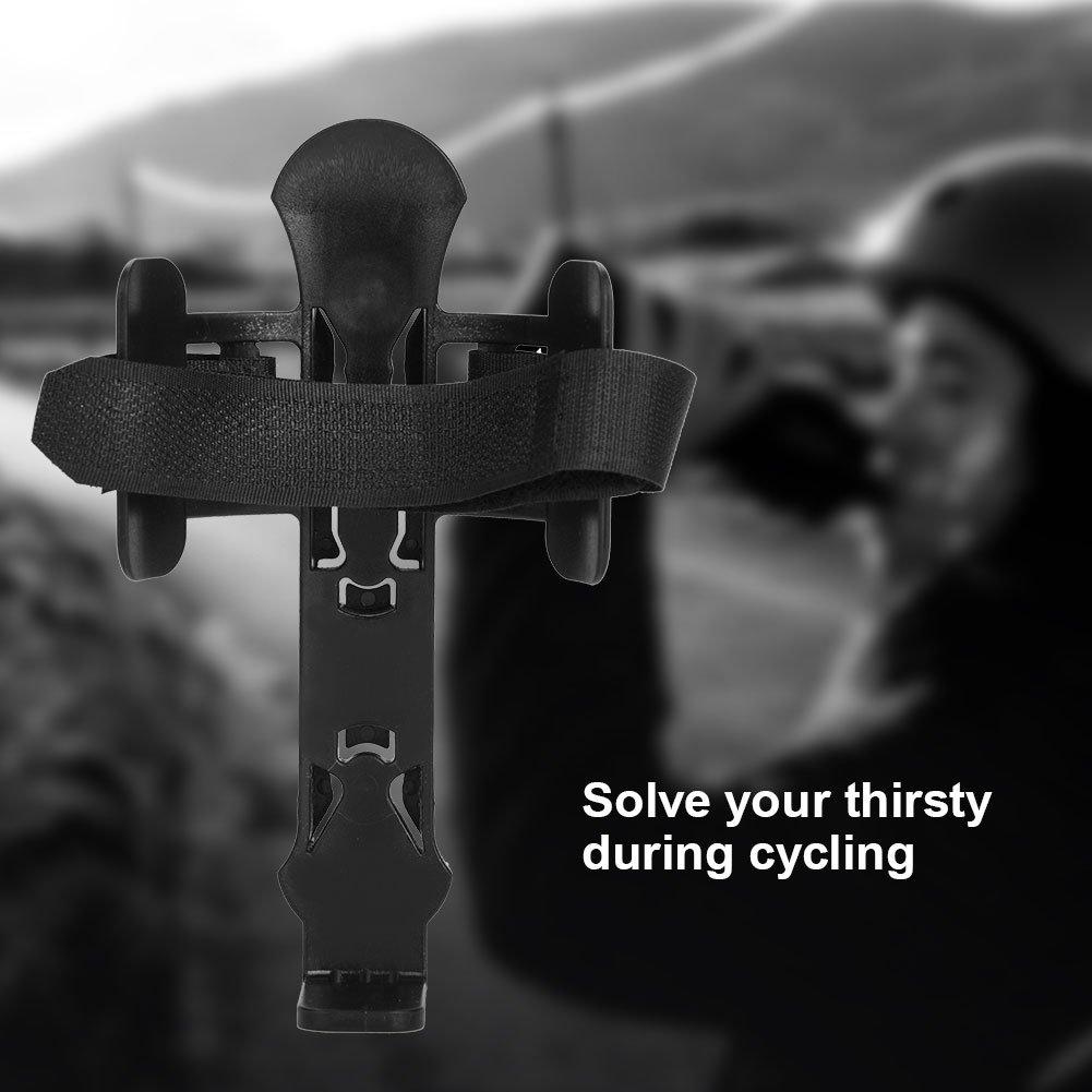Tbest Porte-Bidons Support Water Bottle Cage Holder Porte Bouteille Bidon pour Velo Bicycle VTT MTB