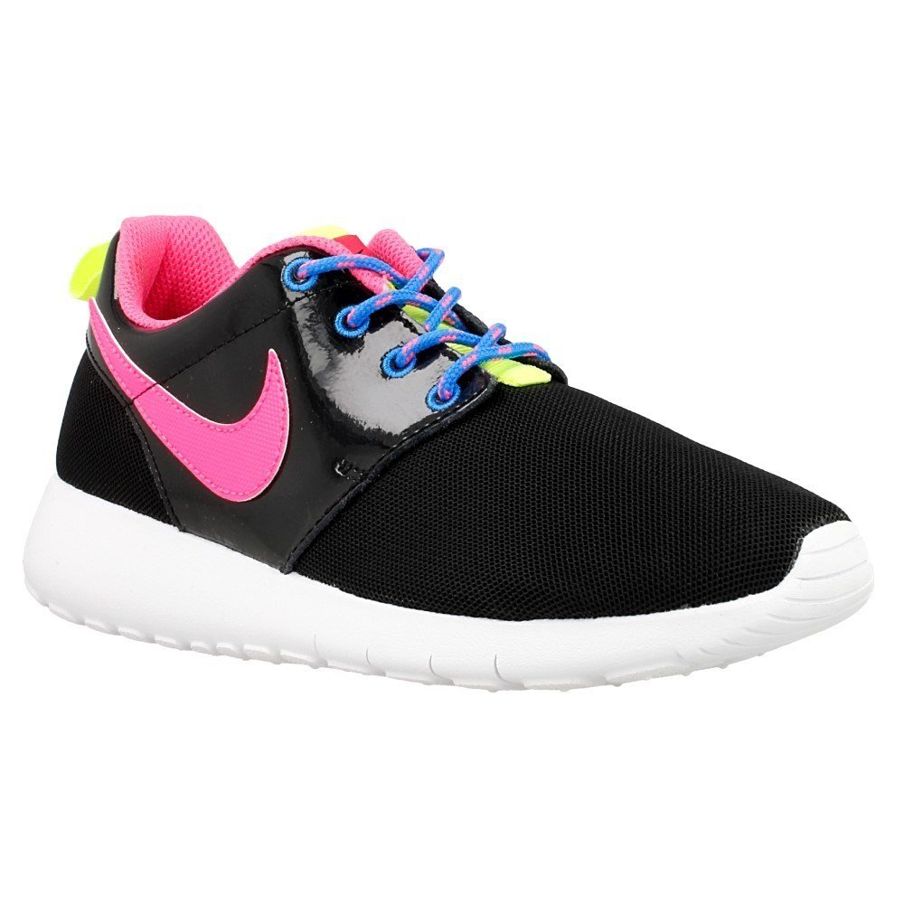 Nike Roshe One GS - 599729011 - Color Black-Pink - Size: 6.0