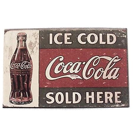 Agilidad botella de Coca Cola Ice cold Art 1 Vintage Coleccionable ...