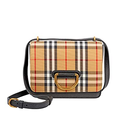 8017c4cd1b5 Image Unavailable. Image not available for. Color  Burberry women D Ring crossbody  bag ...