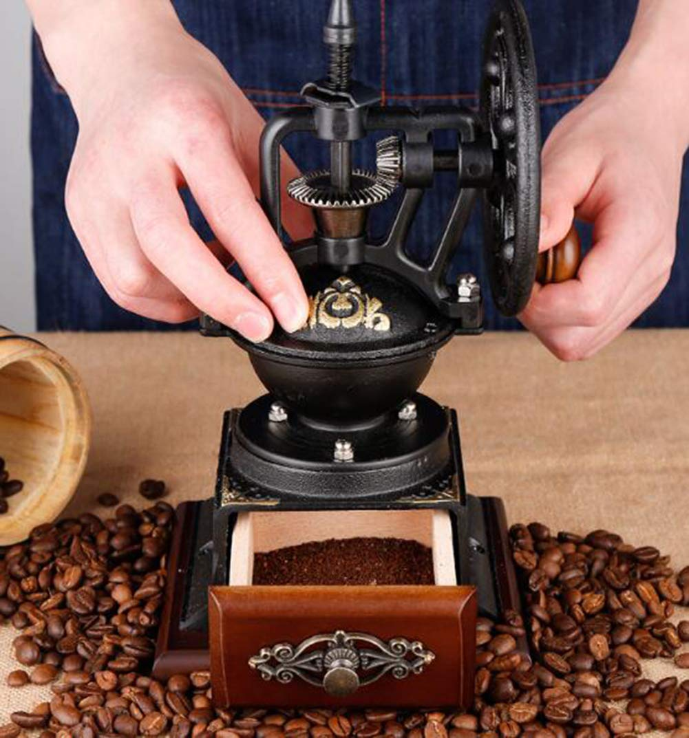 PsgWXL Hand-cranked Grinder Coffee Home Manual Coffee Machine Small Coffee Bean Grinder Grinder by PsgWXL (Image #5)