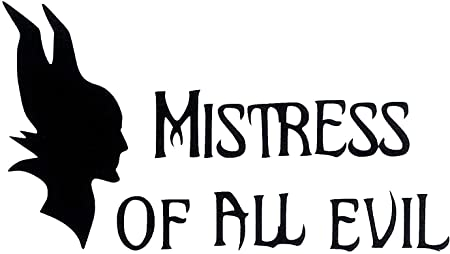 Maleficent Mistress of Evil Vinyl Decal