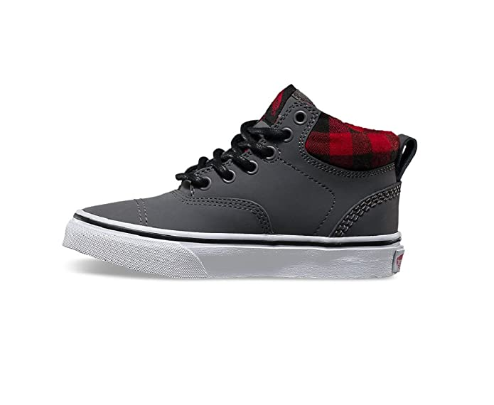 8259ecdf2675a Vans Boy's Era Hi (MTE) Nubuck/Grey Skateboarding Shoes VN000302I2K