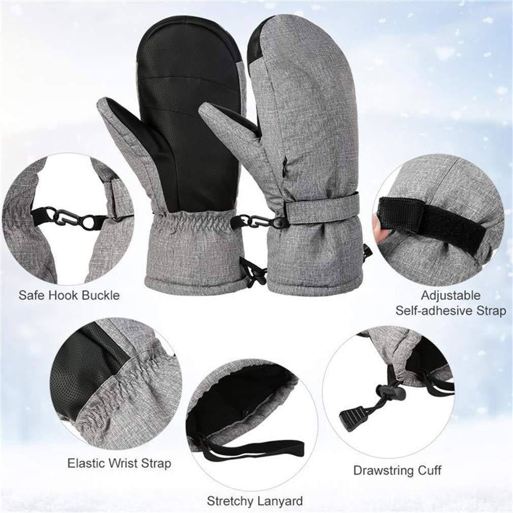 Men Women Warm Winter Ski Gloves Outdoor Sports