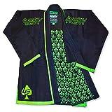 Great BJJ GI, Lucky Gi Fleur De Lis, Martial Arts Uniform, Comfortable Bamboo Brazilian Jiu Jitsu GI, Matching Gi Bag, 550 Bamboo Blend Micro Pearl Weave, Light Weight, Flexible review