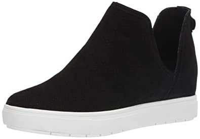 bf71eebdadc STEVEN by Steve Madden Women s CANARES-P Sneaker Black Suede 5.5 ...