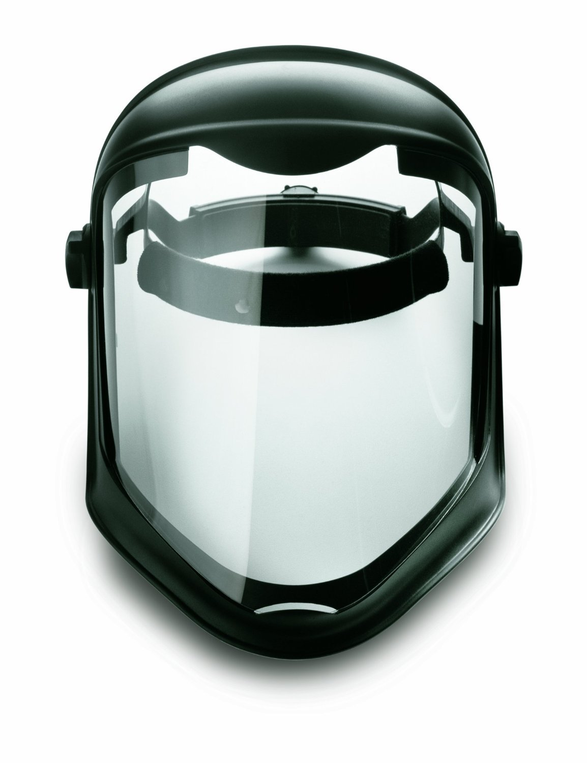 Uvex S8510 Bionic Shield, Black Matte Face Shield, Clear Polycarbonate Anti-Fog/Hardcoat Lens, 3 Pack by Uvex (Image #4)