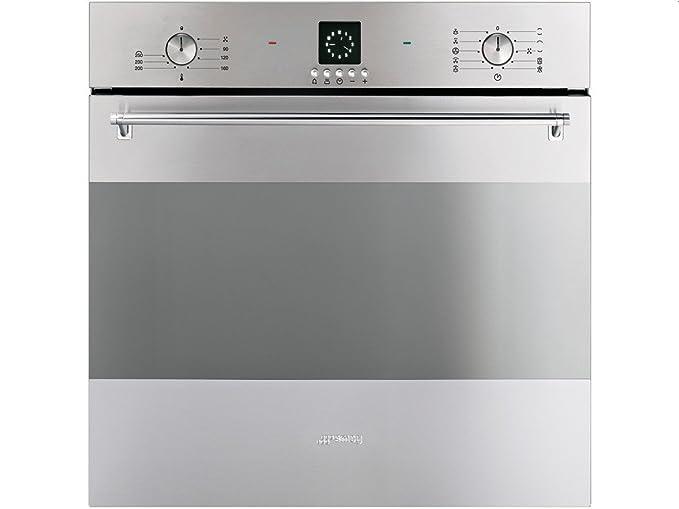 Smeg SF99X - Horno (Horno eléctrico, 79 L, 3000 W, 72 L, 50-250 °C ...