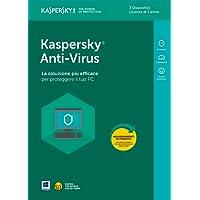 Kaspersky KL1171T5CFS-8SLIM Anti-Virus Full Box 3 User