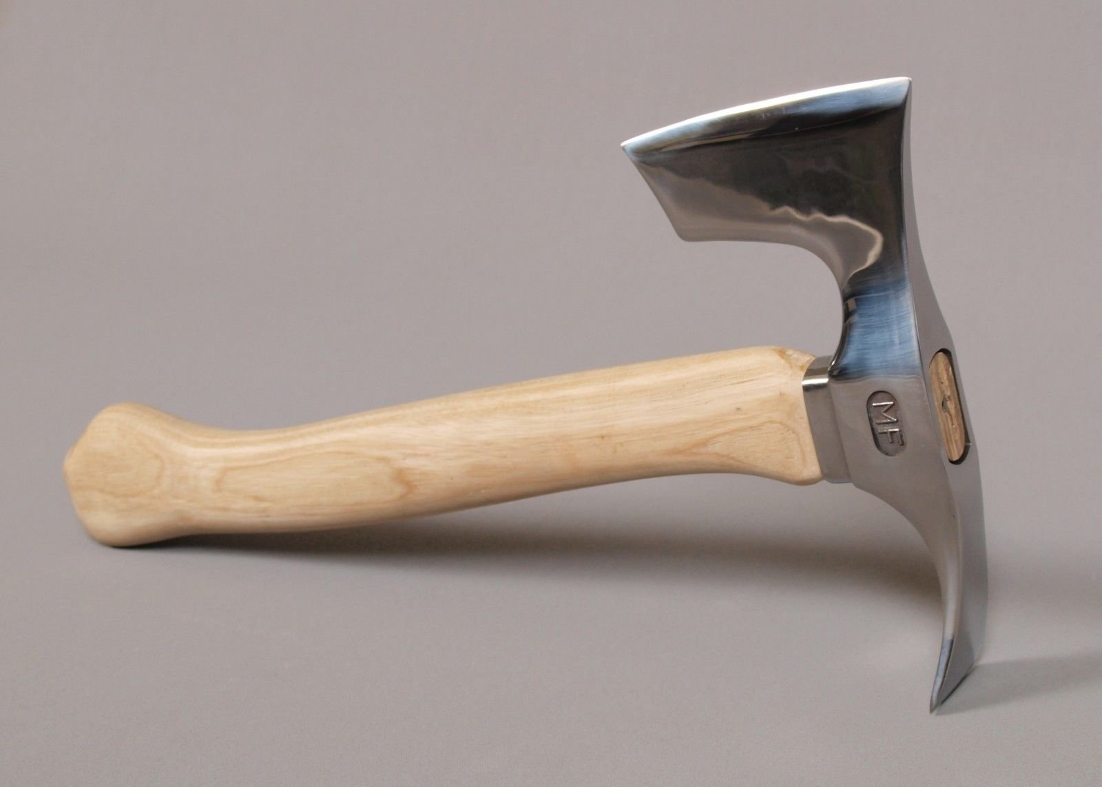 Stainless Steel Elegant Small Bearded Hatchet / Axe Combined with Adze Blade
