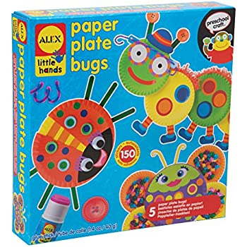ALEX Toys Little Hands Paper Plate Bugs  sc 1 st  Amazon.com & Amazon.com: ALEX Toys Little Hands Paper Bag Monsters: Toys \u0026 Games