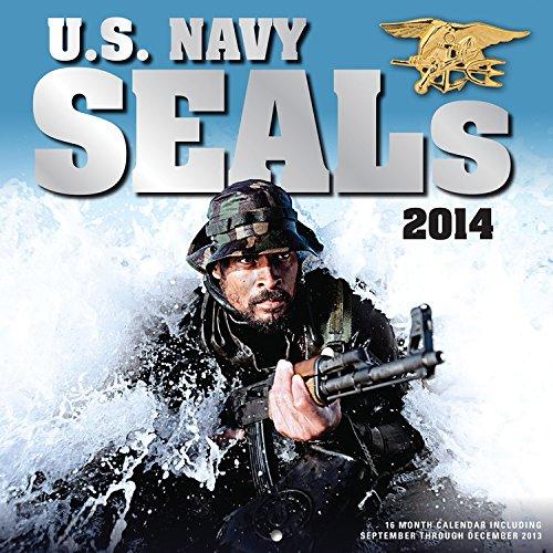 U.S. Navy SEALs 2014  16 Month Calendar   September 2013 Through December 2014