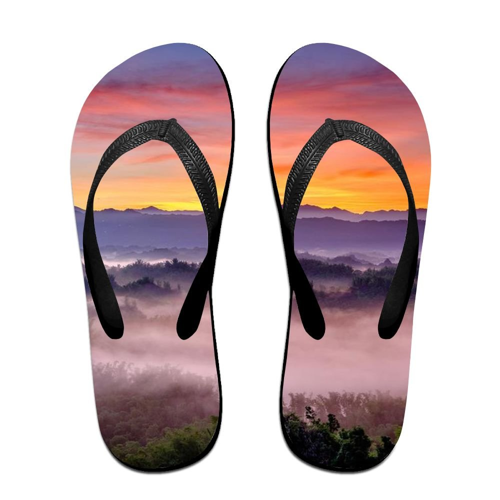 Fairy Mountain Mens Flip Flops Non-slip Beach Axido Summer Beach Wear