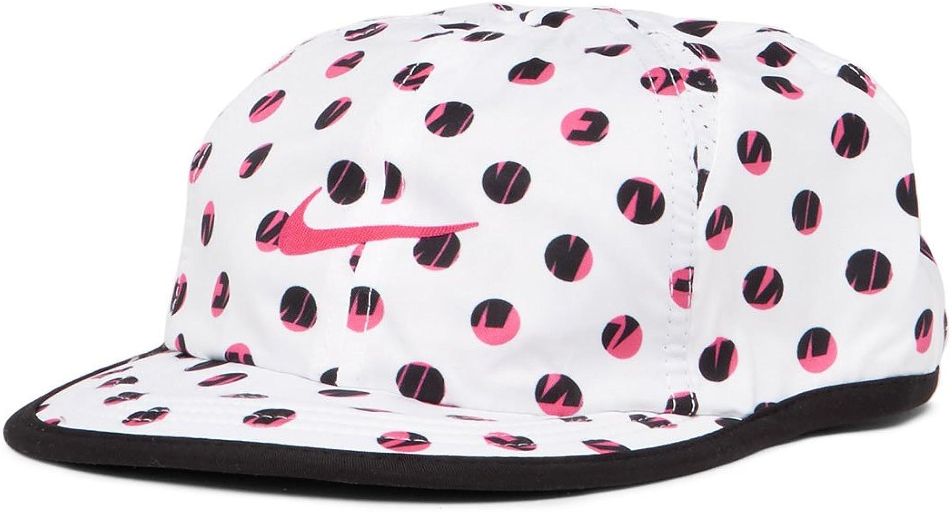 Nike Dri-Fit gráfico Baseball Gorra Ajustable, White/Hyper Pink ...
