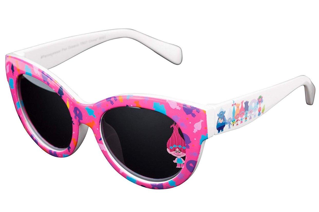 Dreamworks Trolls Poppy Love Fun Time Sunglasses - 100% UVA & UVB Protection (Pink Poppy Fun) by Dreamworks (Image #2)