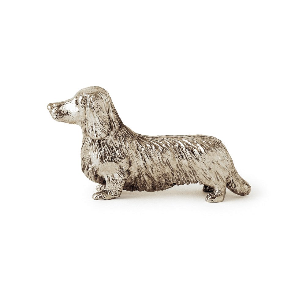 Dachshund Long Coat Made in UK Artistic Style Dog Figurine Collection