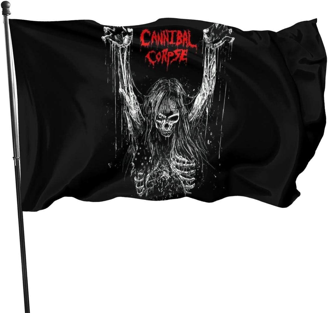 Cannibal Corpse Band Garden Flag Outdoor Courtyard Farm Party Activities Etc Garden Banner 3 X 5 Ft