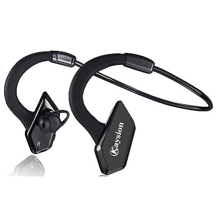Auriculares Impermeables Bluetooth deportivos KAYSION IP66, para uso exterior, Bluetooth, inalámbricos