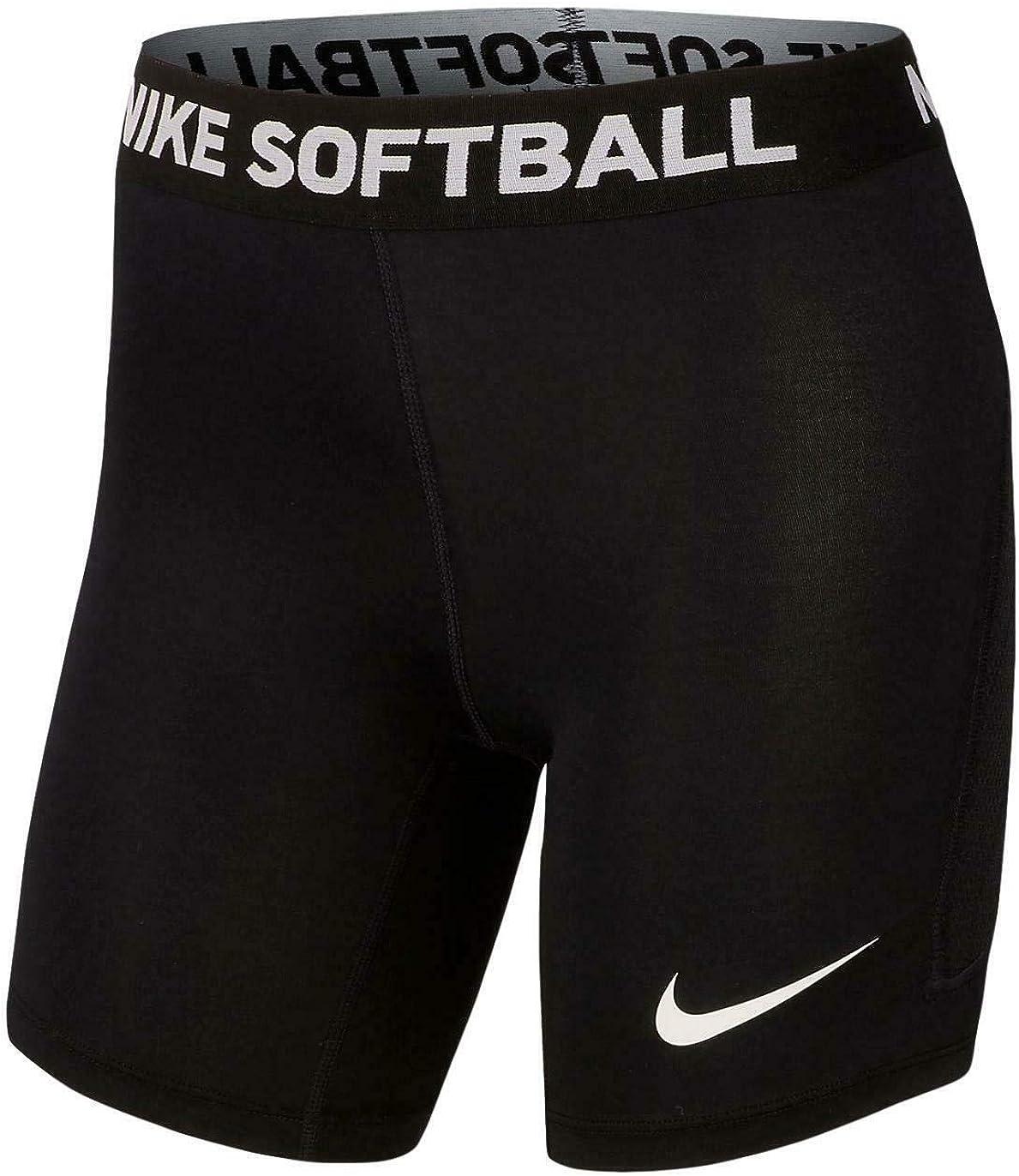 Nike Girls Dri-Fit Softball Slider Compression Shorts