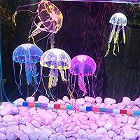 Bargain World 5 cm artificial de silicona medusas