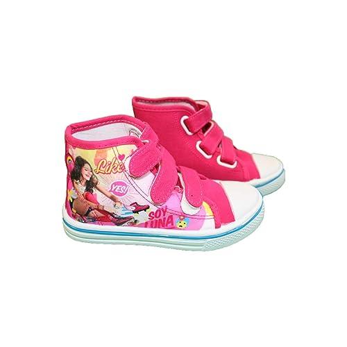 Soy Luna - Zapatillas de Deporte de Sintético Niñas: Amazon.es: Zapatos y complementos