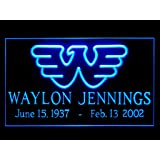 Waylon Jennings Hub Bar Advertising LED Light Sign P622B