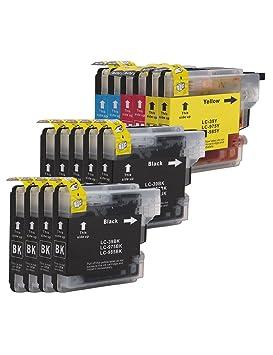 DOREE 15-Pack LC-985 / LC985 Brother Cartuchos de Tinta Compatible ...