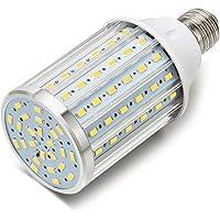 ONLT Ampoule Led, E27 35W 4000K 3450LM 108X5730SMD 350W Ampoule de haute puissance en aluminium de conversion équivalente, AC85-265V, réverbère de LED, 360 degrés projecteur, pour le garage, allée