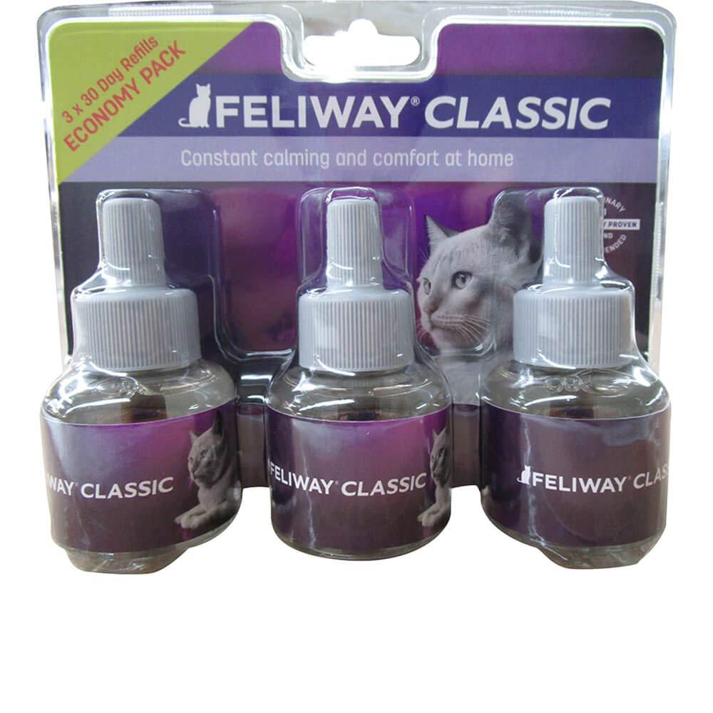 Feliway Plug-In Diffuser Refill, 48 mL, 3-Pack by Feliway