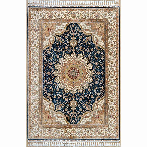 5x8 Area Rugs Amazon: Amazon.com: Camel Carpet 5.5x8 Hand Knotted Area Rug Beige