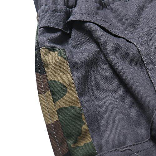 Hommes Avec Sport Gris À Slim Pantalon Pour Pieds Amuster Petits Décontractés Pantalons Élastique De Séchage Rayé Tissés tqfawX7