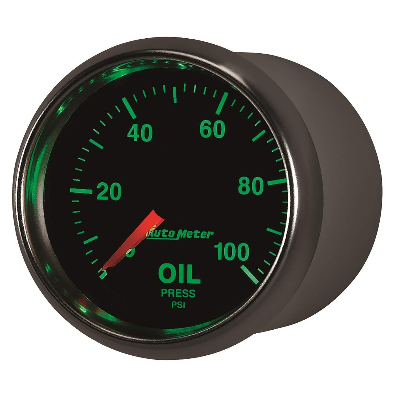 Auto Meter 3821 GS Mechanical Oil Pressure Gauge