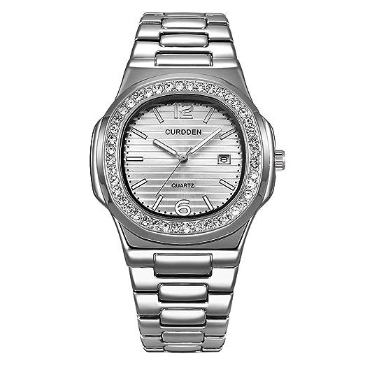 POJIETT Marcas de Relojes Hombre Mujer de Lujo Reloj Dorado Pulsera Analogico de Cuarzo Relojes Elegantes para Hombre Wrist Watch for Women Men Regalos: ...