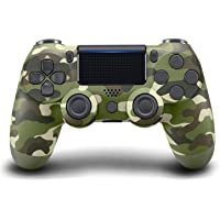 EachMay Wireless Controller for PS4 (Camouflage Green)