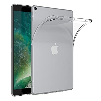 AICEK Funda iPad Pro 10.5, Transparente Silicona Fundas para iPad Pro 10.5 Carcasa iPad Pro 10.5 (10,5 Pulgadas) Silicona Funda Case
