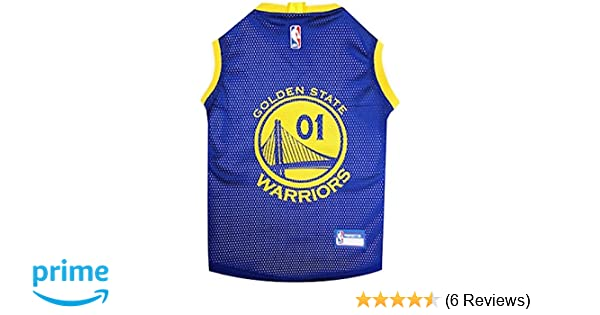 2831f49f2 Amazon.com   Golden State Dog Jersey   Pet Supplies