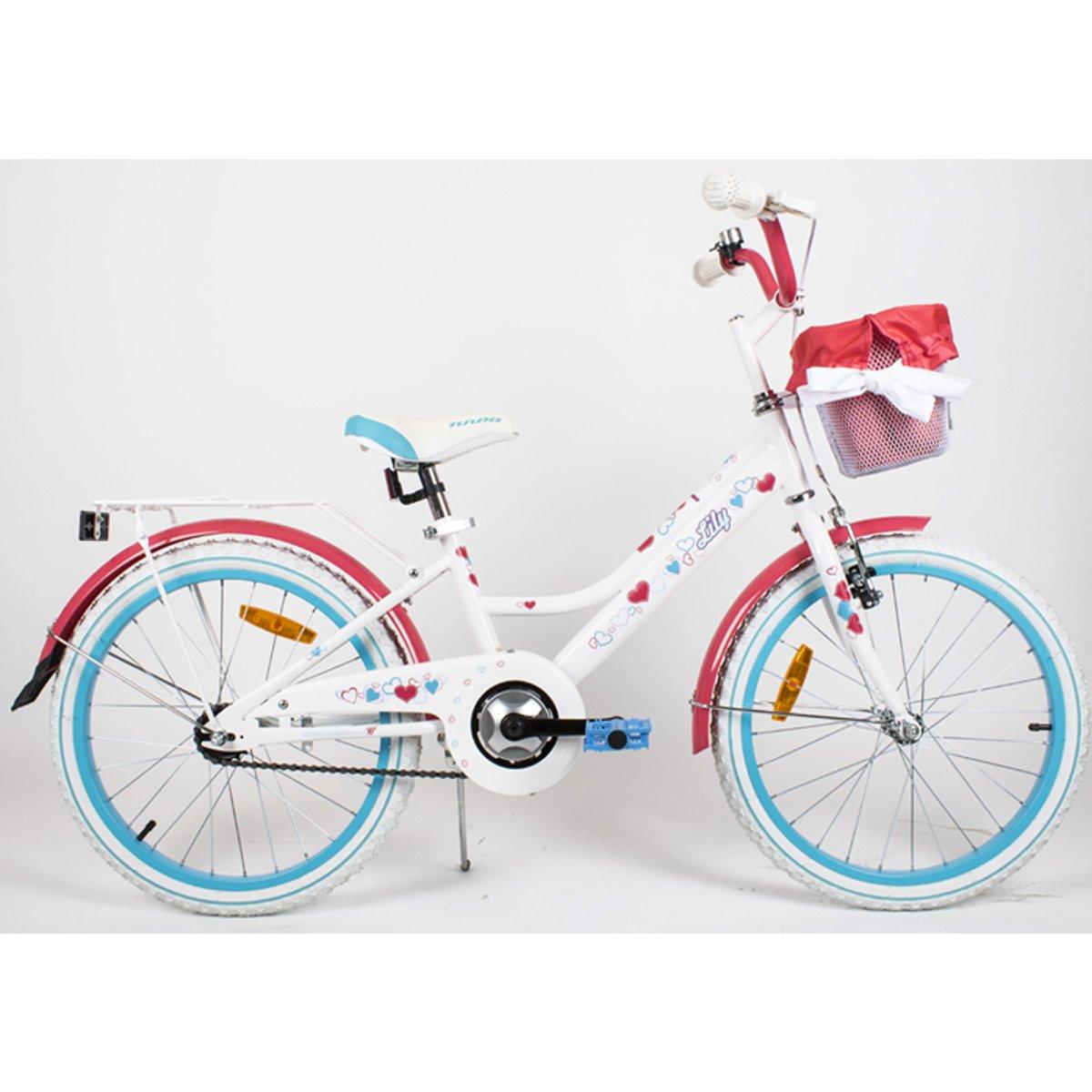 """20LILY-ROT Kinderfahrrad 20"""" Zoll Kinderrad Rad Bike Fahrrad Spielrad"""