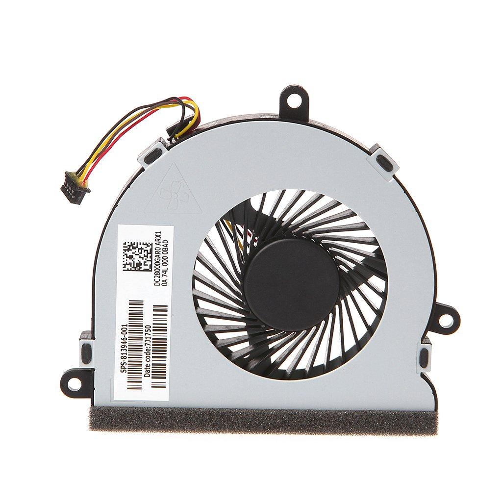 Yuly Laptop Cooler CPU Cooling Fan for HP 15-AC Series DC28000GAR0 SPS-813946-001 HOT