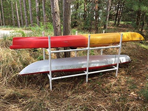 Two Kayak Storage Stand Assembly Kit]()