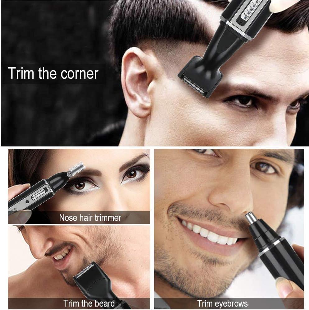 Juego de afeitadora eléctrica para hombres de Semme, impermeable 4 ...