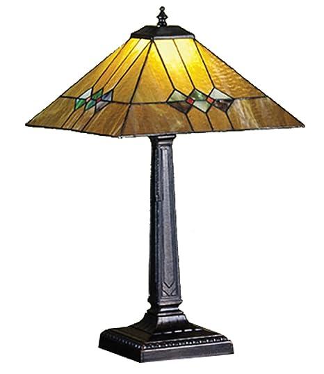 Amazon.com: Meyda 22 inch H Martini Misión lámpara de mesa ...
