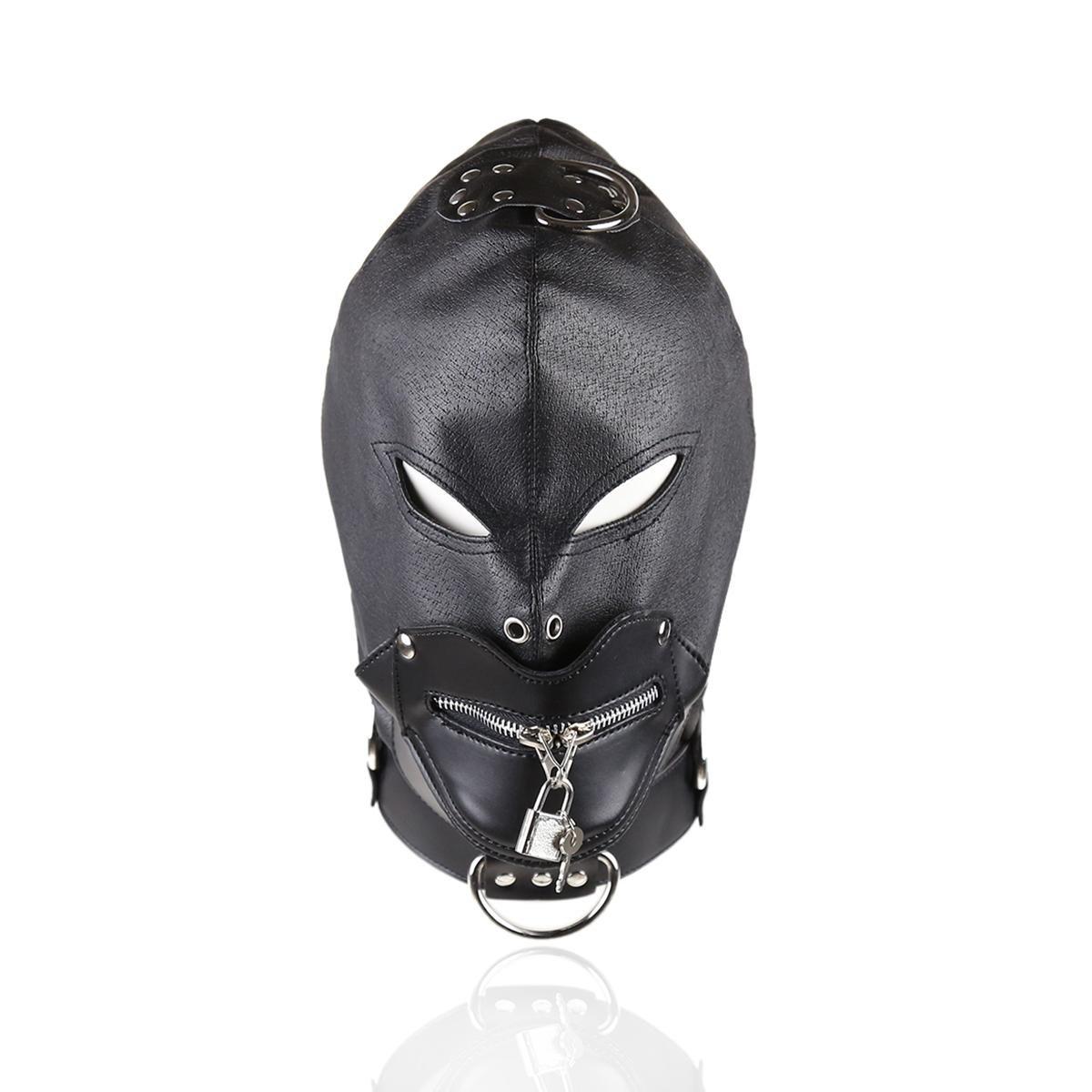 CHENGREN Máscaras adulto suministros diversión cabeza conjuntos juguetes hombres coquetear hombres juguetes y mujeres sm e7b996