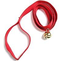 ScSPORTS Ziehgurt Mit Glocke - Accesorio para Trineo (Manillar, Ping y Cuernos, líneas de Remolque), Color Rojo