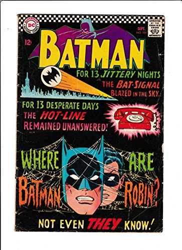 "Batman No.1841966 ""Mystery Of The Missing Manhunters"" :"